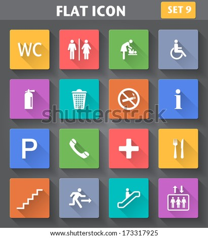 vector application public icons