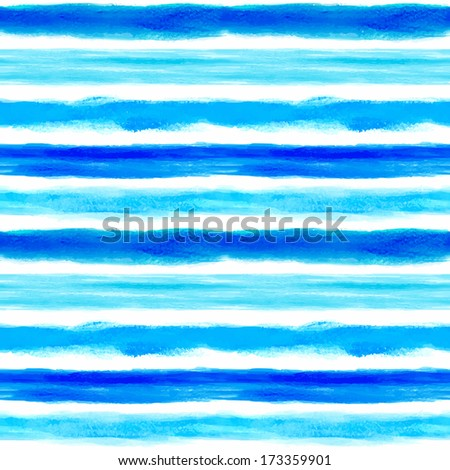watercolor stripes pattern