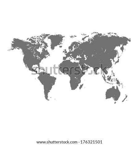 world map vector format