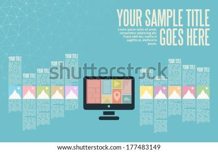 vector design template of a