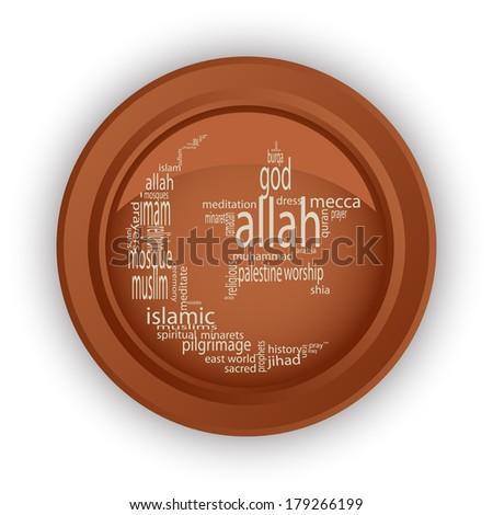 islam  vector format