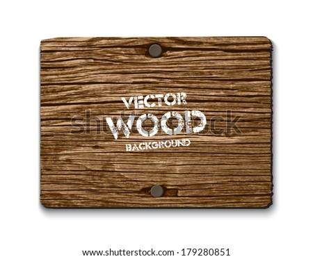 vector old dry brown wood