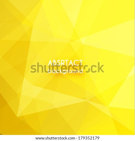 abstract yellow geometric