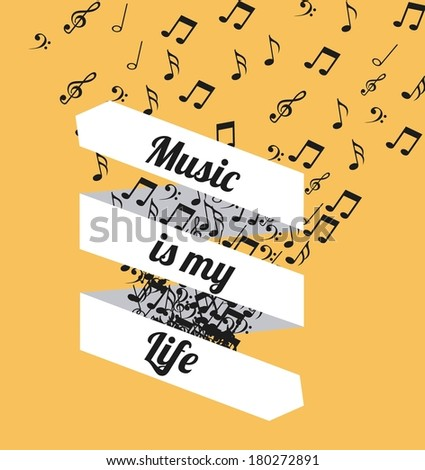 music is my life message  with