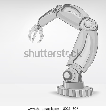 cybernetic robotic hand used