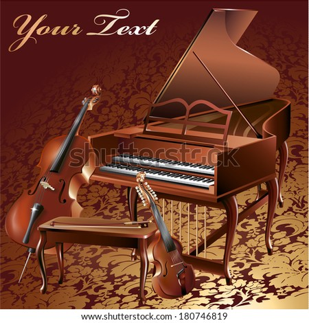 Piano And Cello Free Vector Download 131 For Commercial Use Format Ai Eps Cdr Svg Illustration Graphic Art Design