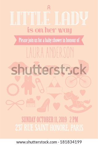 little lady baby shower