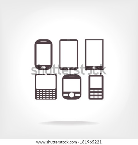 phone set   vector icon