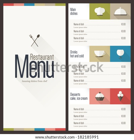 Menu Free Vector Download (1,547 Free Vector) For Commercial Use