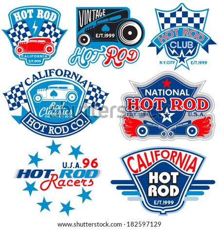 hot rod logos