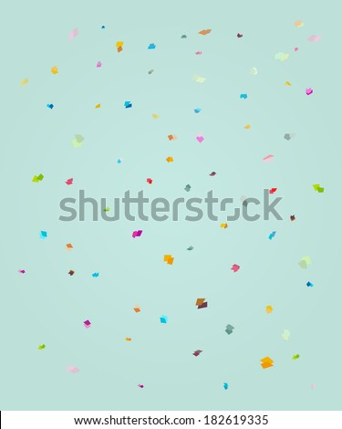 rectangle polka background