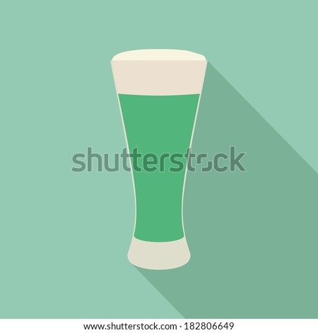 abstract isolated beverage on a