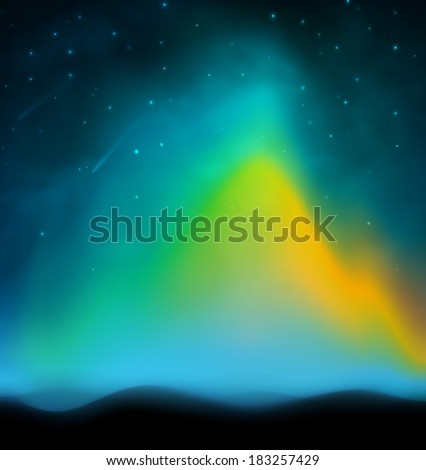 aurora abstract background  eps