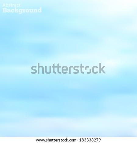 light clouds in a blue sky made