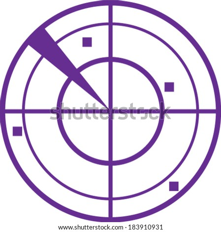 radar simple vector