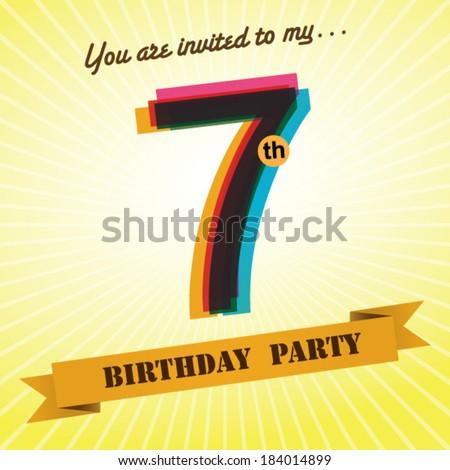 Vector 7th Birthday Cinderella Free Vector Download 1 098 Free