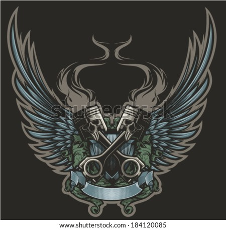 winged pistons