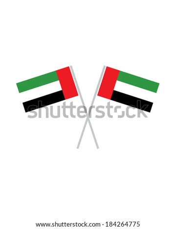 crossed united arab emirates