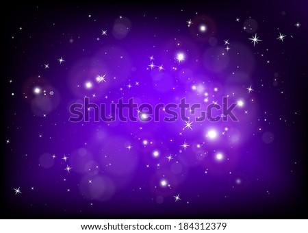 vector purple  haze glittering