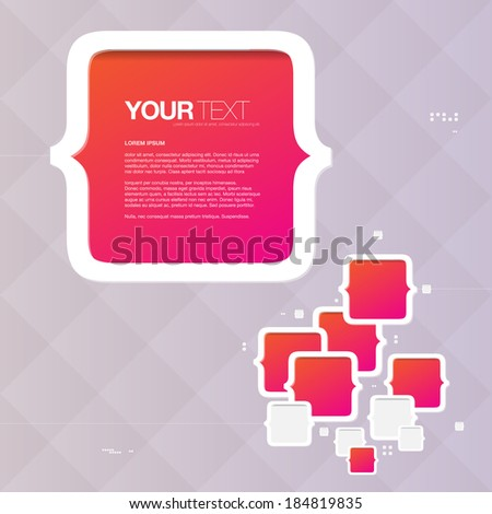 abstract bracket box design