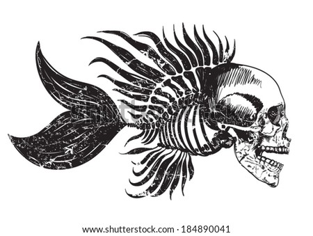 skull tattoo   t shirt graphics