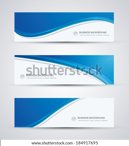 abstract vector business
