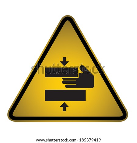 safety warning sign  vector
