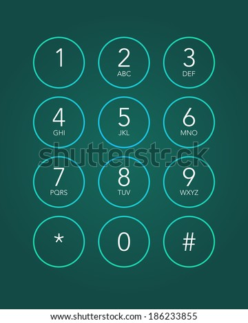 Iphone Keypad