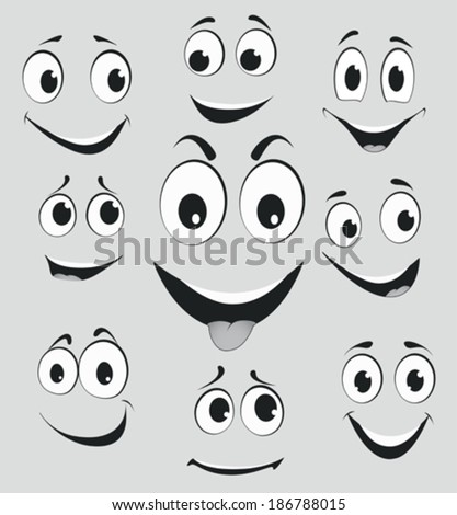 facial expressions  cartoon