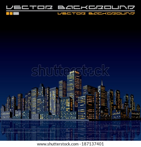 urban cityscape background 3d