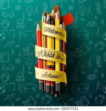 colorful pencil crayons with