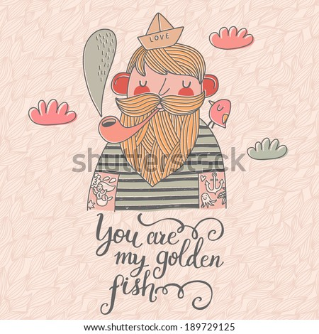 you are my golden fish stylish