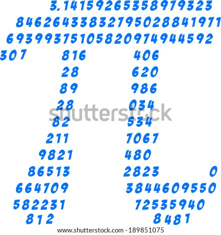 pi numbers  circumference