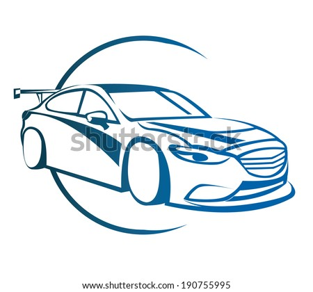 drift car symbol