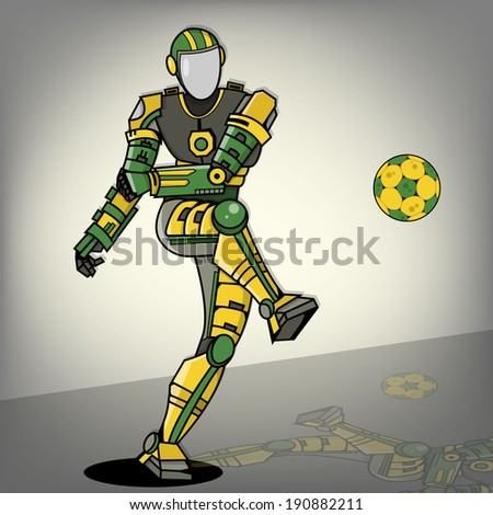 brazilian football robot