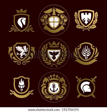 heraldic signs  heraldic