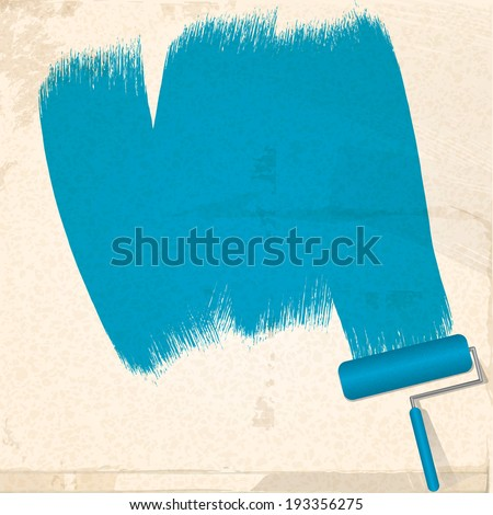 Paint Roller Brush Vector Free Vector Download 6615 Free Vector
