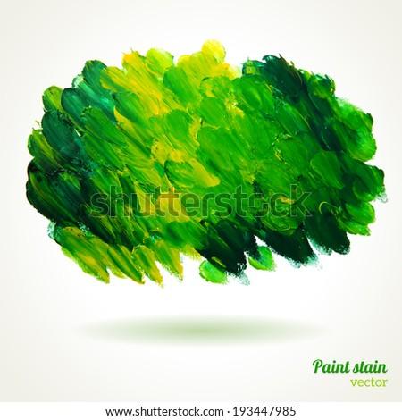 grunge background green paint