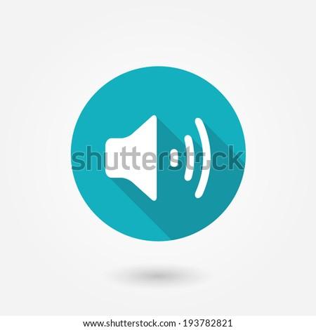 volume icon  vector