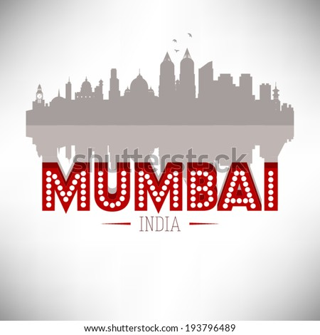 mumbai india  skyline design