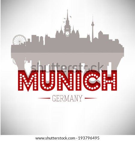 munich germany  skyline design