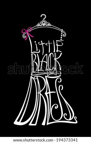 typography dress design