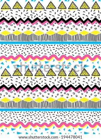 seamless geometric doodle