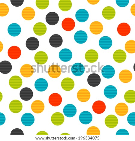 colorful dot seamless