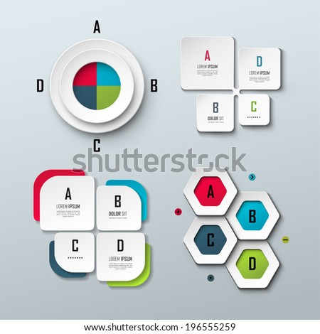 set of bright vector templates