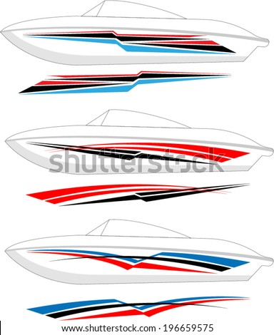boat graphics  stripe   vinyl
