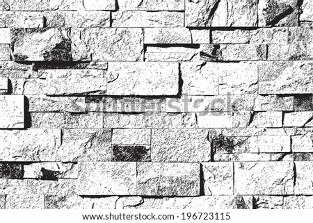 decorative stone wall overlay