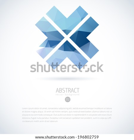 abstract vector modern