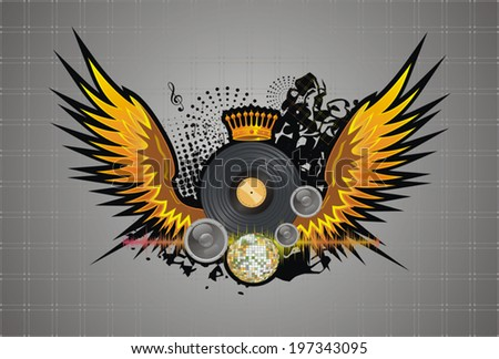 abstract party design  vector