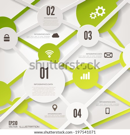 cloud computing background with
